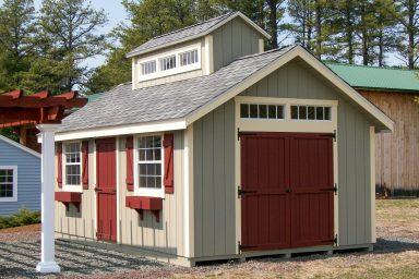 unique backyard shed