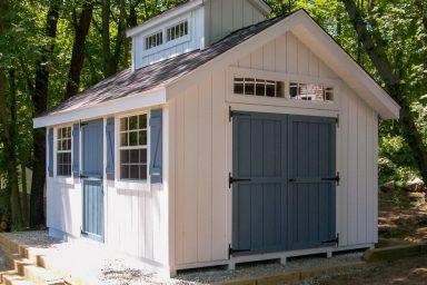 unique design storage shed
