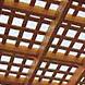 wood traditional pergola lattice roof