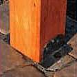 wood traditional pergola mounting bracket