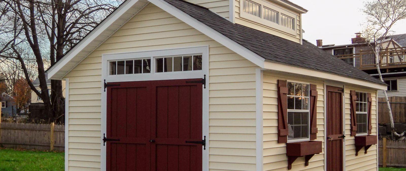 unique storage shed