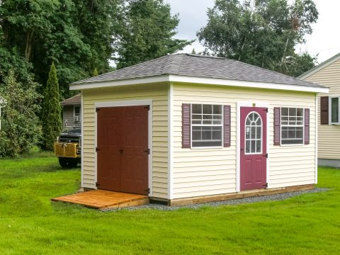 hip roof shed designs