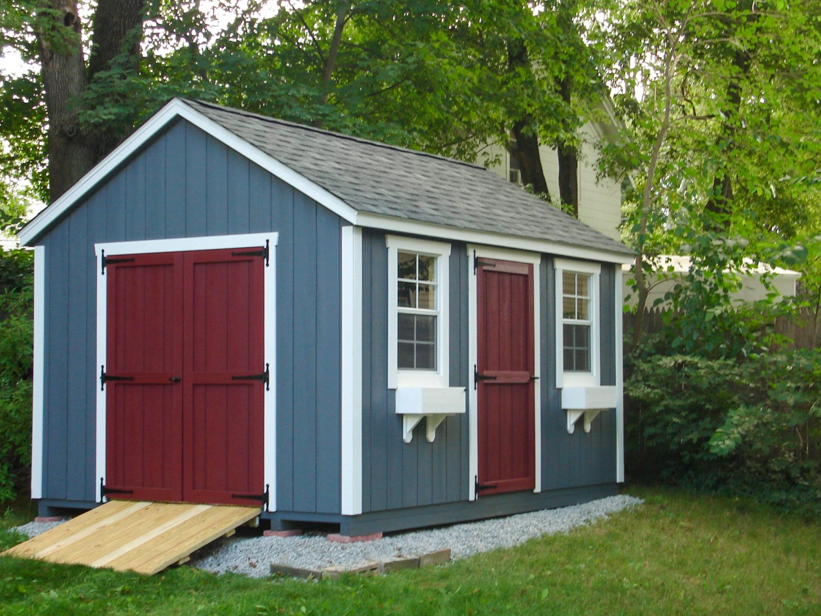 Authentic Traditional Sheds   Portable Storage Buildings ...
