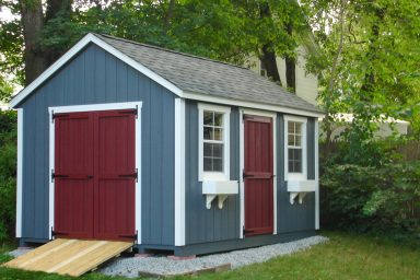 backyard traditional shed for sale near me