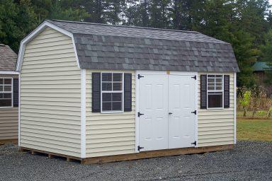 mini barn shed workshop