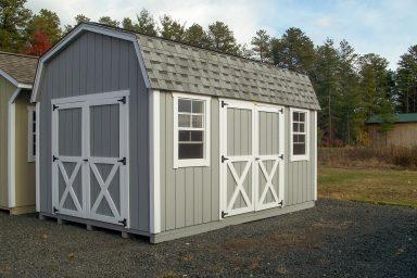 mini horse shed barn
