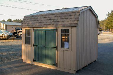 small mini barn shed