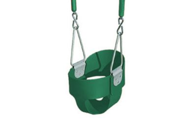 3 full bucket childs swing with soft grip