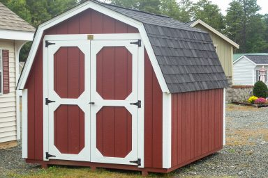 gambrel shed design