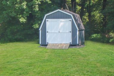 keystone gambrel shed with ramp
