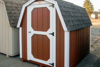 the gambrel roof storage shed