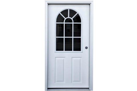 prehung door dog kennel option 2400x9999