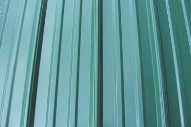 chicken coop accessories green metal 384x384