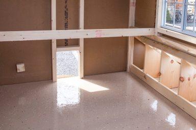 chicken coop accessories epoxy floor 384x384