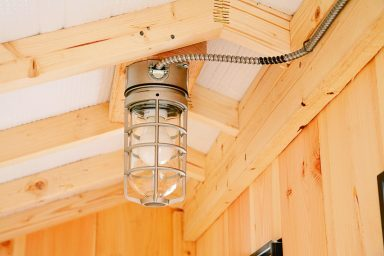 electric package light installed 384x384