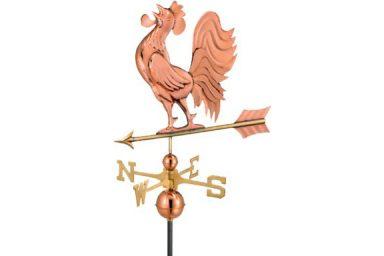 chicken coop accessories copper standing rooster 1 1 384x384