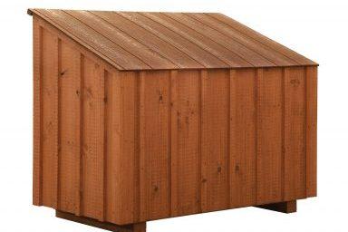 chicken coop accessories bb cedar feed bin 384x384